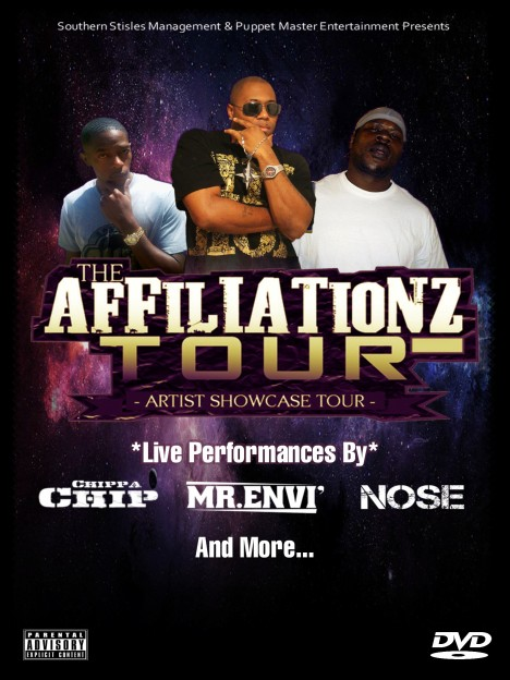 Affiliationztourdvdfrontcover